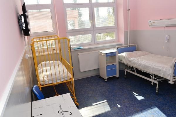 Pokoj pro matky s dětmi