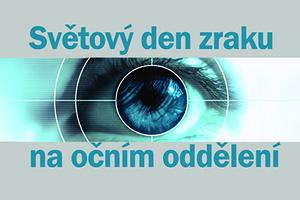 Den zraku na očním oddělení