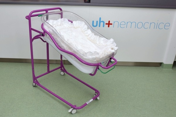 Novorozenecká postýlka - 500 Kč/měsíc