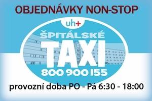 Špitálské taxi pro vás