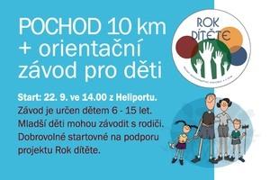 Pochod a orientační závod pro děti